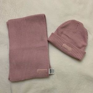 PINK Hat & Scarf Combo